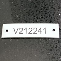 Stainless and Aluminium Labels