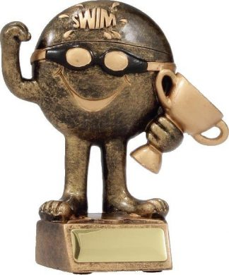 Swimming Trophy A1120AA 110mm