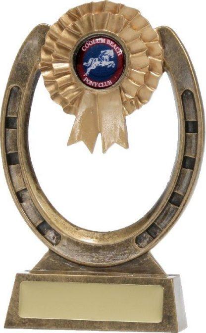 Equestrian Trophy A1218C 160mm