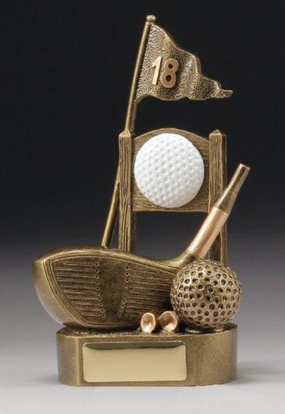 A1571 Golf Trophy 180mm