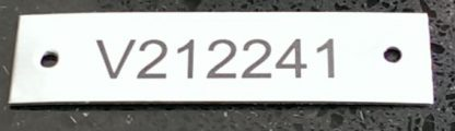 Label Stainless 30x100mm SS30100