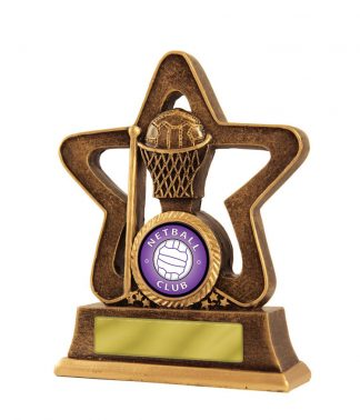 Netball Trophy 587A/8 120mm