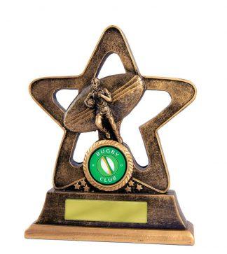 Rugby Trophy 587B/6 145mm