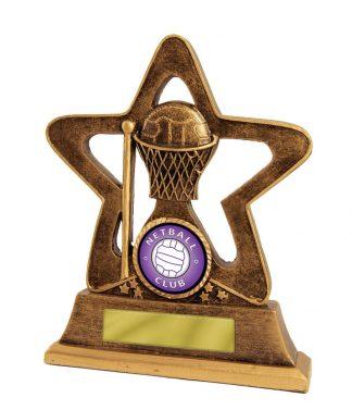 Netball Trophy 587B/8 145mm