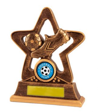 Football (Soccer)  Trophy 587B/9 145mm