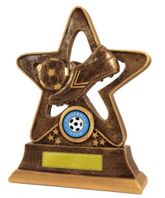 Football (Soccer)  Trophy 587C/9 175mm
