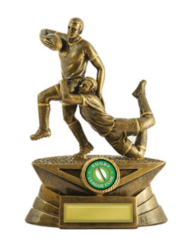 Rugby Trophy 599/6A 150mm