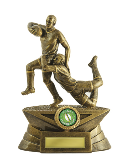 Rugby Trophy 599/6E 250mm