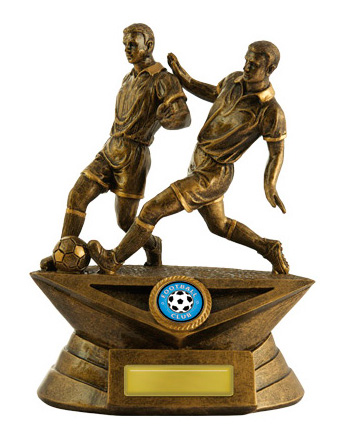 Football (Soccer)  Trophy 599/9MD 225mm