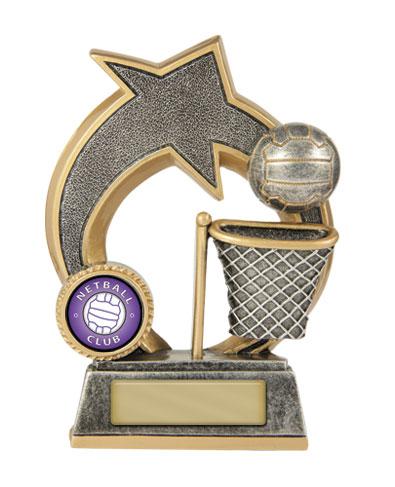 Netball  Trophy 609/8B 140mm