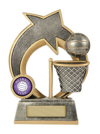 Netball  Trophy 609/8C 155mm