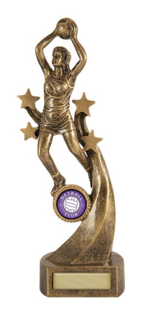 Netball  Trophy 622/8E 235mm