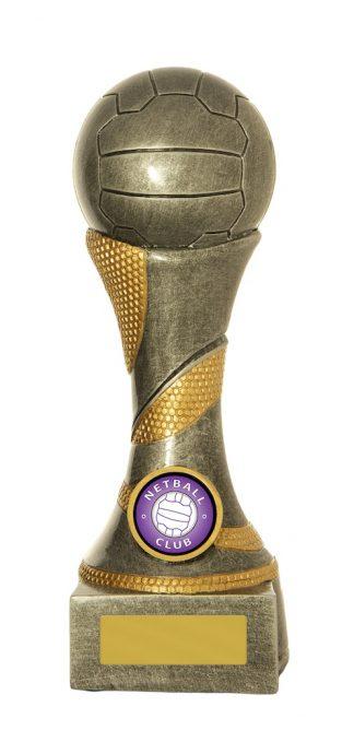 Netball Trophy 725S/8C 200mm