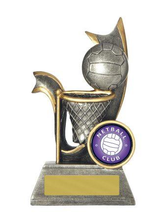 Netball Trophy 726/8A 120mm