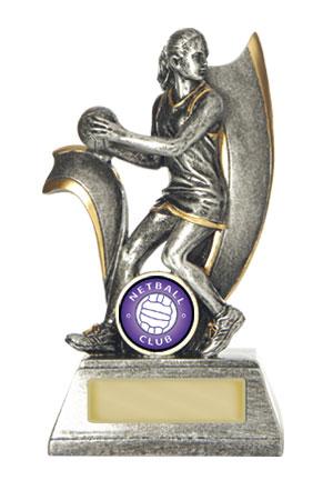 Netball Trophy 727/8B 150mm
