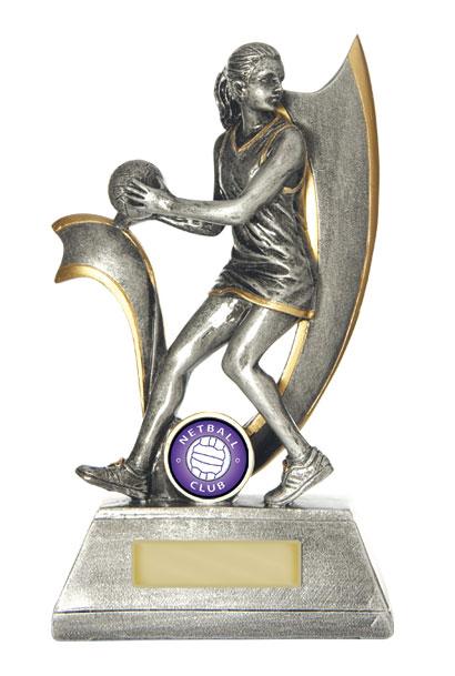 Netball Trophy 727/8E 250mm