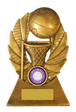 Netball Trophy 729/8C 155mm