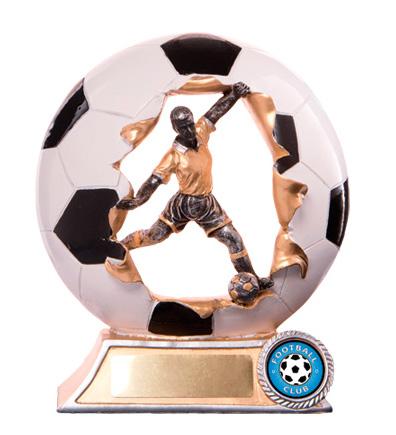 Football (Soccer)  Trophy 735B/9M 175mm