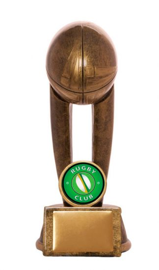 Rugby Trophy 736/6A 150mm