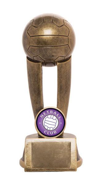 Netball Trophy 736/8A 150mm