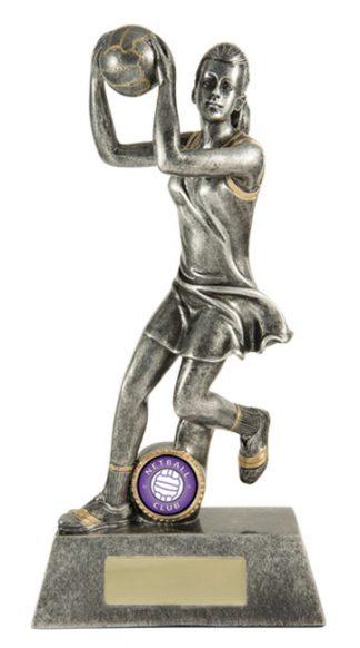 Netball Trophy 742S/8D 255mm