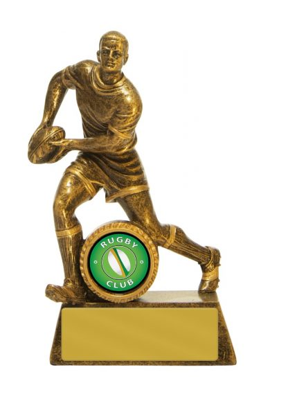Rugby Trophy 762G/6A 140mm