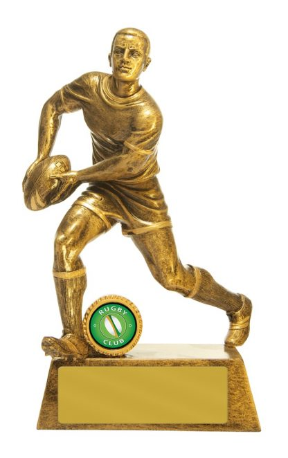 Rugby Trophy 762G/6D 225mm