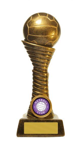 Netball Trophy 767/8B 175mm