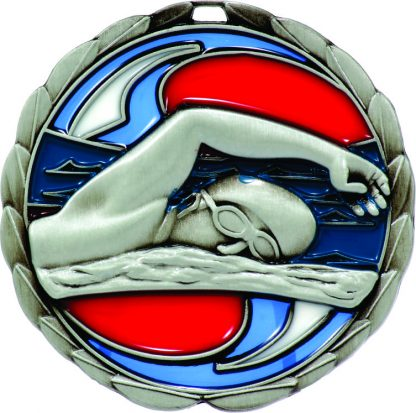 Swimming Medal MS902S 65mm