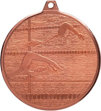 Swimming Medal MZ902B 50mm