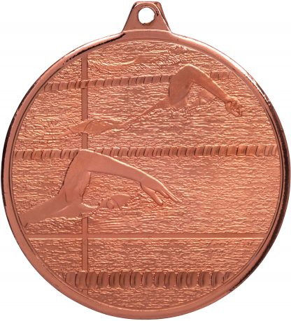 Swimming Medal MZ902B 50mm