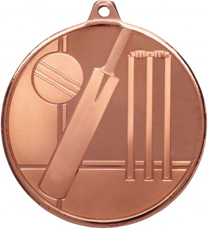 Cricket Medal MZ910B 50mm
