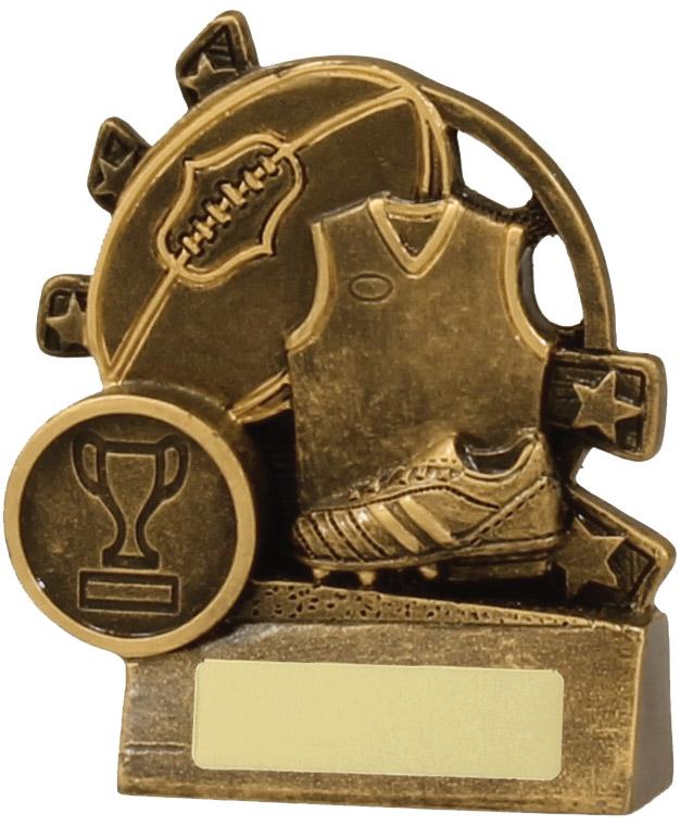 Australian Rules (AFL) Trophy 13831S 90mm