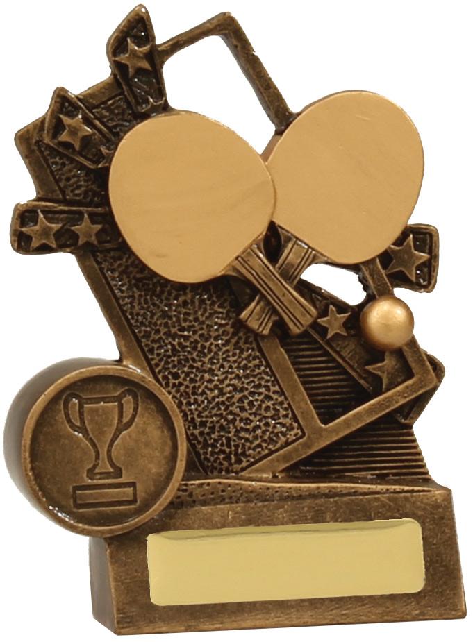 Table Tennis Trophy 13866L 110mm