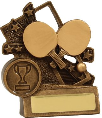 Table Tennis Trophy 13866S 90mm