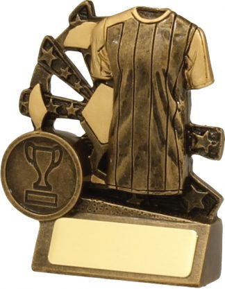 Soccer Trophy 13880S 90mm