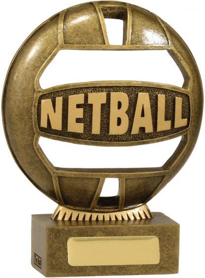 Netball Trophy 13937A 125mm
