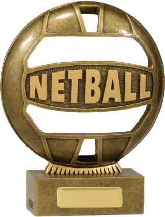 Netball Trophy 13937B 155mm