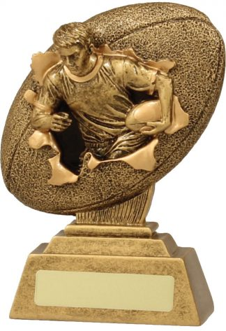 Rugby Trophy 15139A 130mm