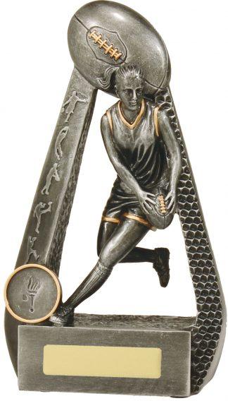Australian Rules (AFL) Trophy 28087C 175mm