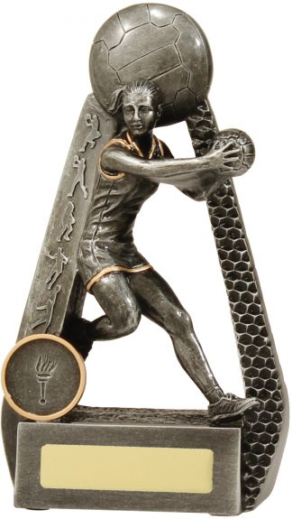 Netball Trophy 28091B 175mm