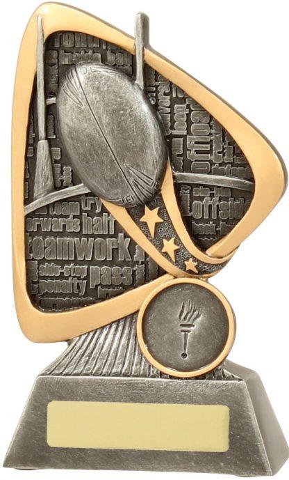 Rugby Trophy 28139B 145mm