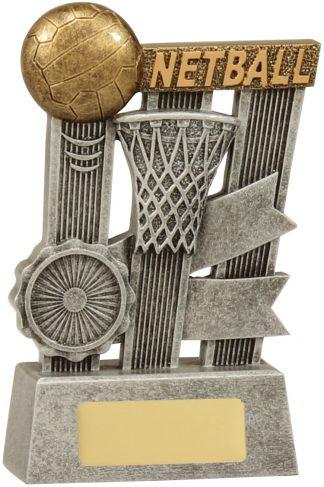 Netball Trophy A1808B 140mm