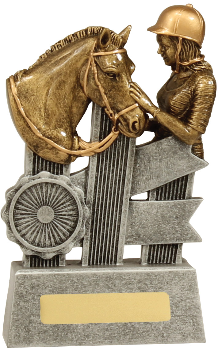 Equestrian Trophy A1809B 140mm