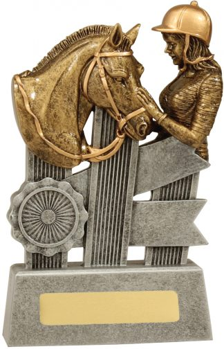 Equestrian Trophy A1809C 170mm