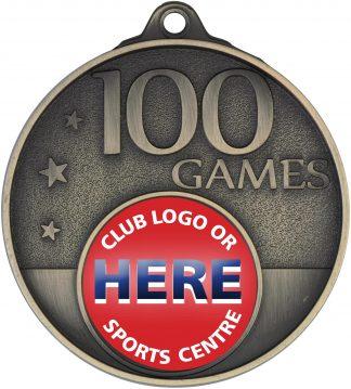 Australian Rules (AFL) Medal MC100G 52mm