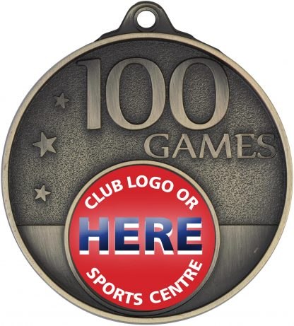 Australian Rules (AFL) Medal MC100G 52mm