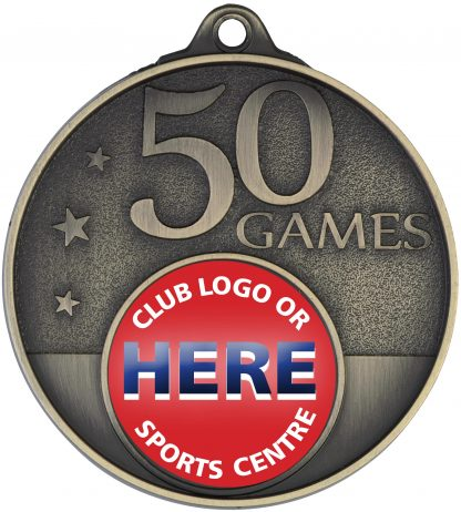 Australian Rules (AFL) Medal MC50G 52mm