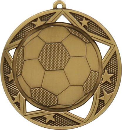 Soccer Medal MQ904G 70mm