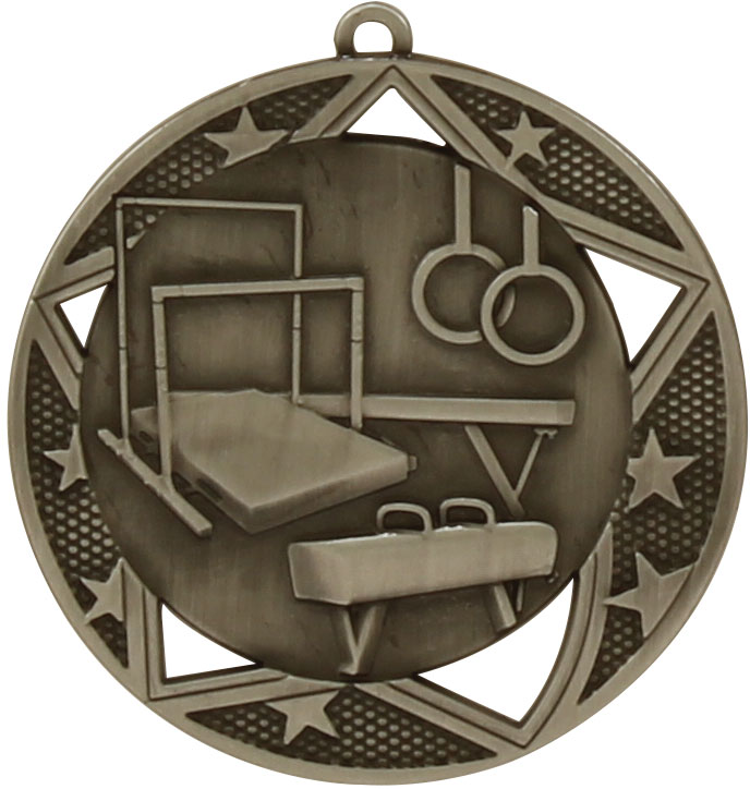 Gymnastics Medal MQ914S 70mm